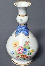 Hutschenreuther Porzellan Vase Blumenvase Porzellanvase Dekor Blumen Höhe 23 cm