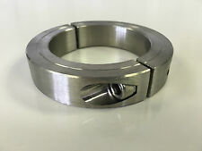 "(1pc) 2"" Inch Stainless Steel Double Split Shaft Collar - 2SSC-200"