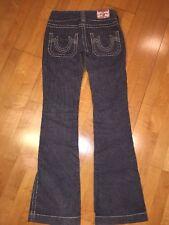 True Religion Sammy Tag Size 25 Gray Corduroy Pants Jeans 29x33.5 Long EUC!