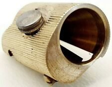 JOHANN FABER brass pencil sharpener for HUGE pencils VINTAGE antique 1940's