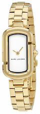 Marc Jacobs The Jacobs White Dial Ladies Gold Tone Watch MJ3504