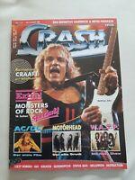 Crash 7/8 /86 Fanzine Magazine Zeitschrift Metal Hammer Heavy Metal Rock Hard...
