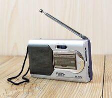 Portable Mini Radio AM/FM Telescopic Antenna World Receiver Battery Powered