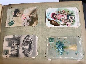 Album de Cartes Postales anciennes 496 cartes