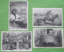 Vintage Ainu The Indigenous People Of Northern Japan Antique Postcards pre-1945