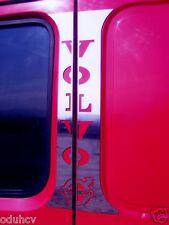 4pcs Polished Stainless Steel Cabin Door Decoration Emblem for Volvo Truck FH FM