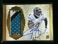 F8323 2012 Topps Five Star Rc Auto/55 Patch Gold Justin Blackmon
