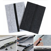For Apple Mac MacBook Fashion Wool Felt Sleeve Laptop Case Cover Bag Air Pro 13""