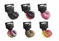 30 Thin Hair Elastic Bands Pony Tail Bobbles Girls Hair Accessory Back to School