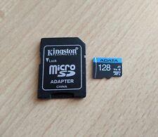 ADATA Premier R100/W25 microSDXC 128GB Kit, UHS-I U1, A1, Class 10