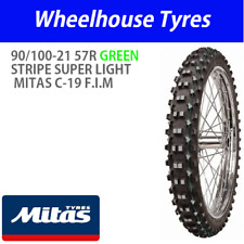 Mitas C-19 Super Light 90/100-21 57R Green Front F.I.M
