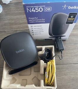 Belkin N450 DB Wi-Fi Dual-Band N Router (F9K1105V3)