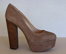 Jessica Simpson Capello Suede Pumps Warm Taupe Size 9.5 M