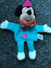 "7.5"" Disney Mcdonalds 2001 Minnie Mouse Soft Toy Plush Hand Puppet"