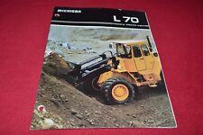 Michigan L70 Wheel Loader Dealer's Brochure YABE15