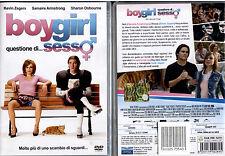BOYGIRL Questione di sesso - DVD NUOVO E SIGILLATO, PRIMA STAMPA, RARISSIMO!