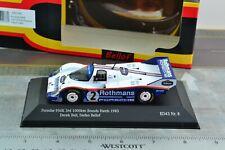 CMR SBC008 Porsche 956 K 3rd 1000km Brands Hatch 1983 Racing Car 1/43 Scale