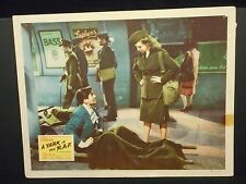 Betty Grable Tyrone Power A Yank In The R.A.F. 1941 orig Lobby Card G WWII