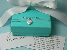 """Authentic Tiffany Co Paloma Picasso Crown of Hearts Pendant Necklace 18""""  PPH12"""