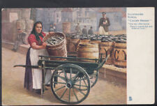 "Occupations Postcard - Illustrated Songs - ""Caller Herrin"" - Fish Trader  RS5802"