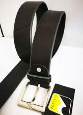Roncato Ceinture Homme Noir 100 Véritable Cuir Made in Italy XXL 200 cm