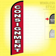 Consignment Windless Swooper Flag 115 Ft Feather Banner Sign Rf