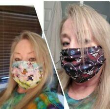 Grateful Dead Face Mask-Dancing Bear Mask-Steal Your Face Mask-Bertha Mask