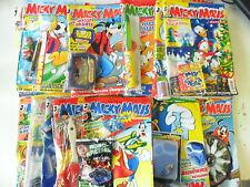32 x ratón Mickey-completo con suplementos + gimmicks -2001/2003 - z. 2-3/3