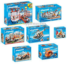 NEW Playmobil Coast Guard Rescue COMPLETE SET 5539-5540-5541-5542-5543-5544-5545