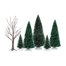 Dept 56 Holiday Special Landscape Set of 6 Sisal Bare Branch Trees Set  4035919