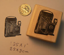 Kodak Camera-Vintage wm rubber stamp 1x1""