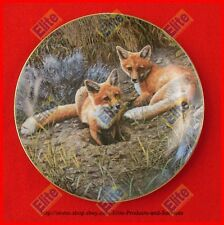 """Be My Baby Collectors Plate """"Waiting For Supper"""" - MIB"""