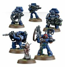Warhammer 40000 48-15 space marine devastator squad 5 x mini figures kit t 48 post
