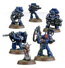 Warhammer 40000 48-15 Space Marine Devastator Squad 5 x Mini Figures Kit T48Post