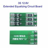 2S 3S 4S Balanced Board With Balance 100mA/300mA 18650 Lithium Battery Module