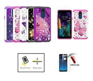 Compatible Case for LG Escape Plus / Arena 2 / Journey, Crystal Butterfly Case