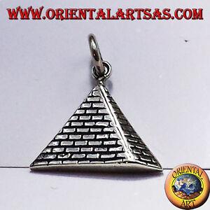 Anhänger Pyramide aus Silber 925