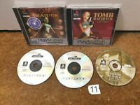 Tomb Raider Bundle 1 2 and Last Revelation - Playstation 1 PS1 - N11