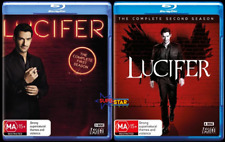 Lucifer : Season 1 & 2 (Blu-ray, 7-Disc Set) NEW
