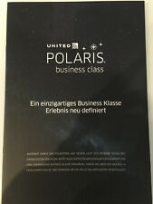 UNITED AIRLINES POLARIS BUSINESS CLASS BROCHURE