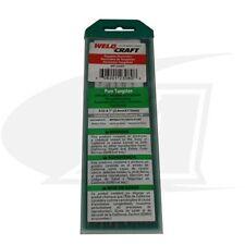 """Weldcraft Brand Pure Tungsten Electrodes 3/32"""" diameter - 10 Pack"""