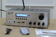 Dynavox VT-80 MK - NEU 2020 - Stereo-Receiver / Bluetooth®, USB / silber