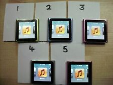 Apple 6th gen. ipod nano 8GB - totally flawless. works perfectly - your choice -
