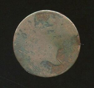 1797 Liberty Cap Half Cent with pole, Lettered Edge