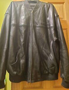 marc buchanan leather jacket