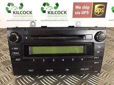 GENUINE 2009 TOYOTA AVENSIS RADIO PLAYER MP3 86120-05140  * FAST POSTAGE