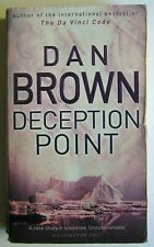 DECEPTION POINT NOVEL BOOK PAPERBACK by DAN BROWN