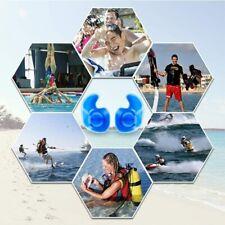1 Pair Swimming Ear Plugs Professional Waterproof Reusable Silicone Earplugs