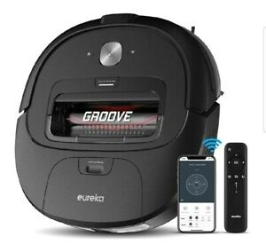 Eureka Groove Robot Vacuum Cleaner, Wi-Fi Connected, App, Alexa & Remote Control