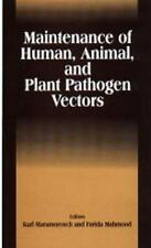 Maintenance of Human, Animal, and Plant Pathogen Vectors-ExLibrary